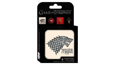 Herní předměty ABYstyle Game of Thrones, podtácky (4ks)
