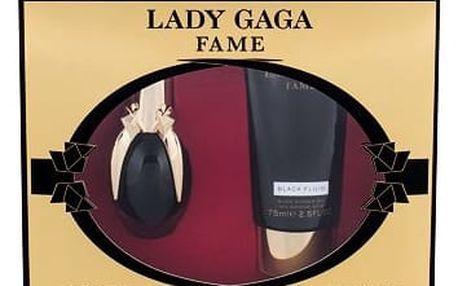 Lady Gaga Fame EDP dárková sada W - EDP 30 ml + sprchový gel 75 ml