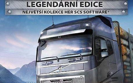 Euro Truck Simulator 2: Legendární edice - PC - PC - 8592720122282
