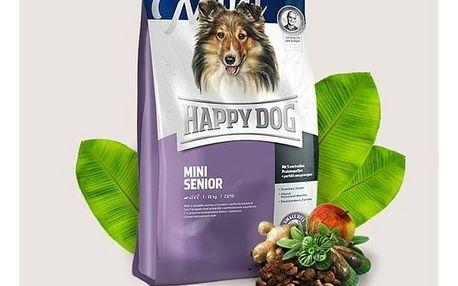 Granule HAPPY DOG MINI Senior 4 kg