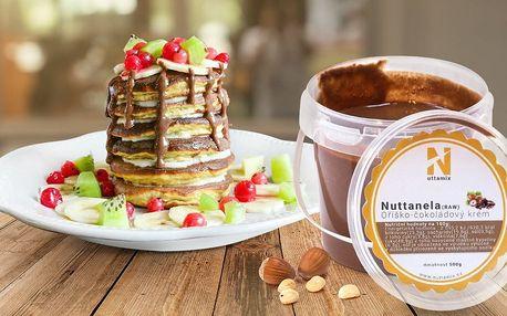 Nuttanela RAW: Oříško-čokoládová pochoutka