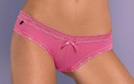 Dámské Kalhotky Obsessive Corella Hot Pink S/M