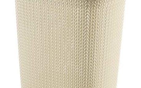 Curver Koš na prádlo Knit 57 l bílý