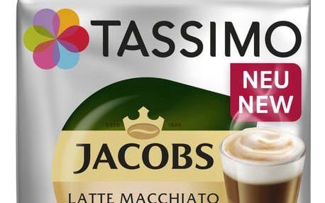 Tassimo Jacobs Latte Macchiato Vanilla 8+8ks