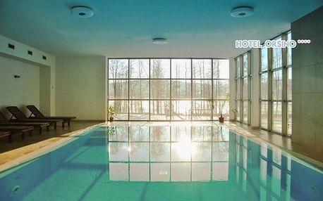 Lipno s wellness a polopenzí ve 4* hotelu