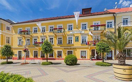 5denní silvestrovský pobyt pro 1 v luxusním hotelu Tři lilie**** ve Františkových Lázních