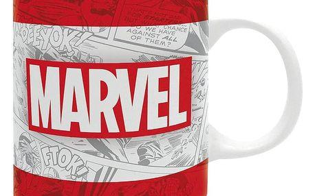 Herní předměty ABYstyle Marvel: Logo Classic, hrnek, 320ml