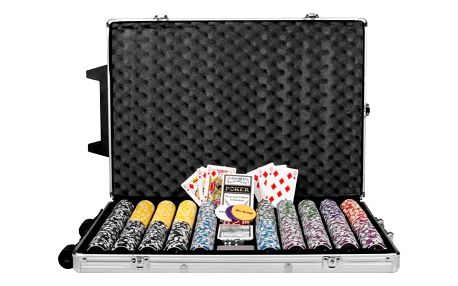 Garthen 495 Poker set 1000 ks žetonů OCEAN Trolley