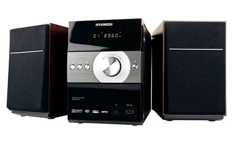 Mikrosystém Hyundai MSD 861 DRU černá barva + Doprava zdarma