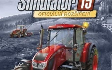 Farming Simulator 2015 - Oficiální rozšíření Zetor - PC - PC - 8592720122329