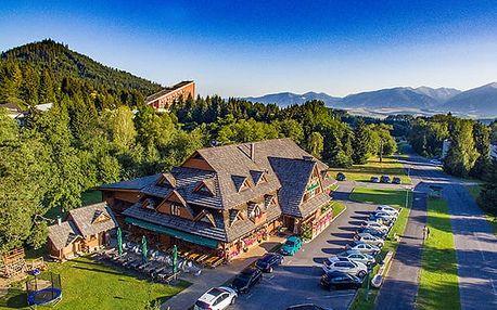 Hotel Strachanovka***, 3* hotel v stylové dřevěné kolibě s polopenzí a wellness