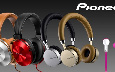 Sluchátka Pioneer k poslechu doma i na cestách