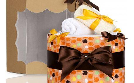 Plenkový dort T-tomi Eco Lux velké oranžové tlapky