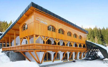 Hotel Lesana***, Moderní 3* horský hotel s polopenzí a neomezeným wellness