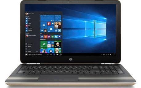 Notebook HP 15-aw019-nc (Y5K23EA#BCM) zlatý