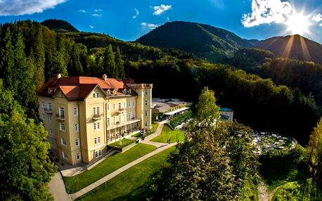 Hotel Rimske Terme, Luxusní pobyt na horách s polopenzí a termálními bazény