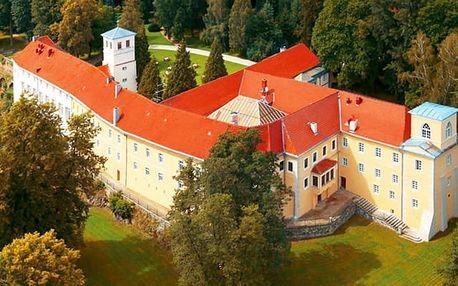Hotel Zamek na Skale****, Luxusní hotel v zámku z 16. století s polopenzí a wellness