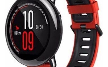 Chytré hodinky Xiaomi Huami Amazfit, Global (AMI399) červený + DOPRAVA ZDARMA
