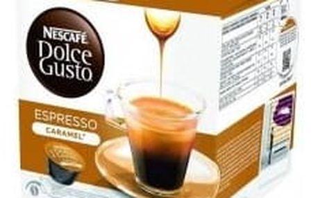 Dolce Gusto Kapsle Espresso Caramel 16 ks
