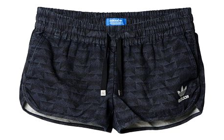Kraťasy Adidas Track Denim Running Shorts rinse denim 28