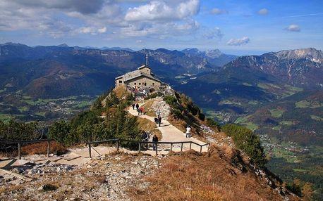 Německo - Bavorsko / 1denní zájezd Orlí hnízdo, bez stravy s dopravou autobusem