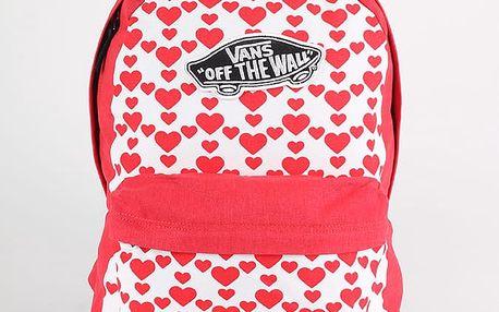 Batoh Vans Wm Realm Backpack Hearts Růžová