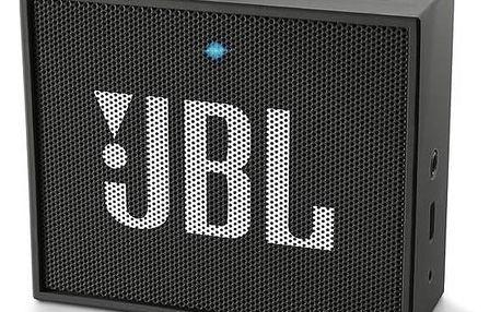 Přenosný reproduktor JBL GO černý