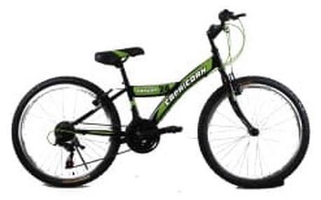 CAPRICORN Condor 24 černo-zelené dětské kolo