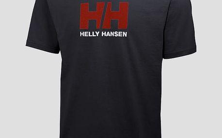 Tričko Helly Hansen LOGO T-SHIRT Černá