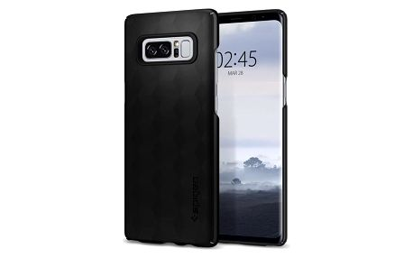Spigen Thin Fit pro Galaxy Note 8, matte black - 587CS22051