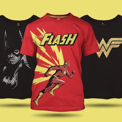 Dámská a pánská trička z komiksových kolekcí