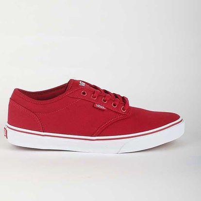 Boty Vans Mn Atwood (Canvas) Red/Wh Červená