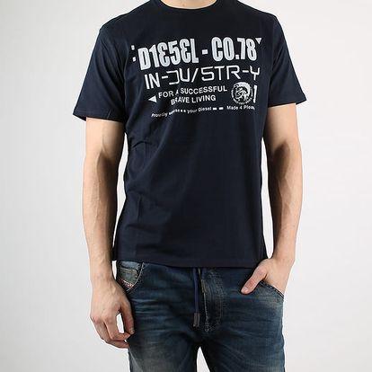 Tričko Diesel T-NUCK-R MAGLIETTA Černá