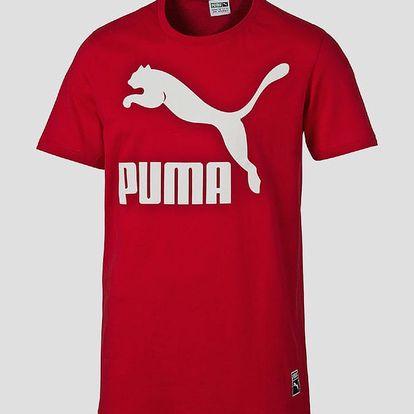 Tričko Puma Archive Logo Tee Barbados Cherry Červená