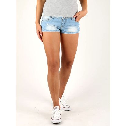 Kraťasy Alcott BASIC DENIM SHORT Modrá