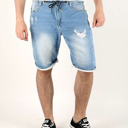 Kraťasy Alcott BACK POCKET DENIM BORDER Modrá