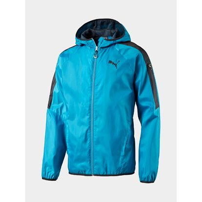 Bunda Puma FUN Solid Windbreaker M atomic blue Modrá