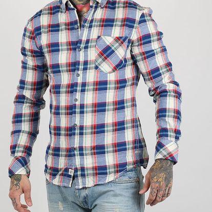 Košile Alcott TWILL NAPS CHECK Červená