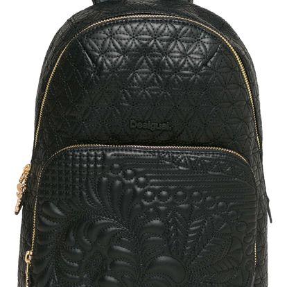 Desigual černý batoh Lima Lottie