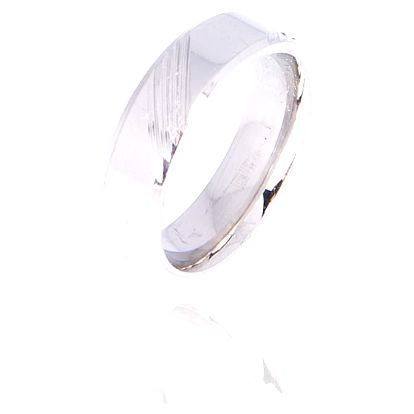 Prsten s rytinou chirurgická ocel chirurgická ocel bez kamínku 015412