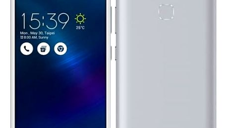 Mobilní telefon Asus ZenFone 3 Max ZC520TL (ZC520TL-4J078WW) stříbrný
