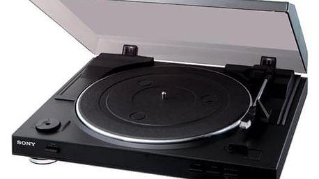 Gramofon Sony PS-LX300USB (PSLX300USB.CEL) černý