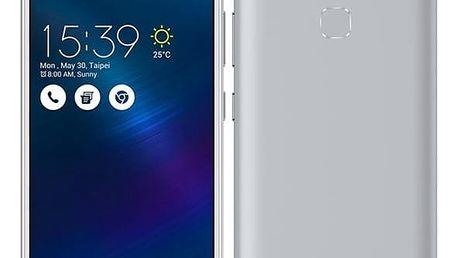 Mobilní telefon Asus ZenFone 3 Max ZC520TL (ZC520TL-4J078WW) stříbrný + DOPRAVA ZDARMA