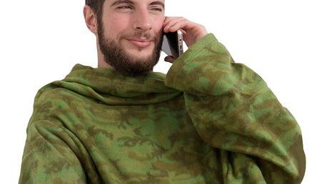 SNUG Deka s rukávy Commando