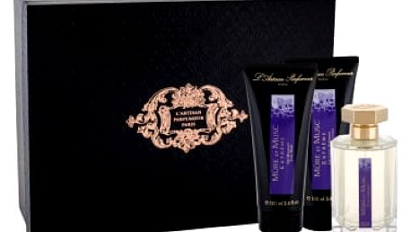 L´Artisan Parfumeur Mure et Musc Extreme dárková kazeta unisex parfémovaná voda 100 ml + sprchový gel 100 ml + tělové mléko 100 ml