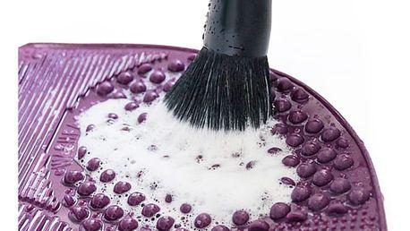 PRETTY-U Pomůcka na čištění kosmetických štětců