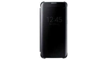 Pouzdro na mobil flipové Samsung pro Galaxy S7 Edge (EF-ZG935C) (EF-ZG935CBEGWW) černé