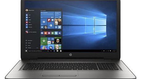 Notebook HP 17-y011nc (X5X62EA#BCM) stříbrný