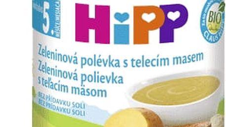 6x HIPP BIO Zeleninová polévka s telecím masem (190 g)