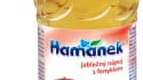 6x HAMÁNEK Jablečná šťáva s fenyklem (500 ml) – nápoj